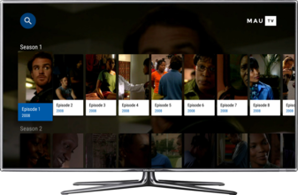 MauTV OTT White-label for Android TV – TV series detail