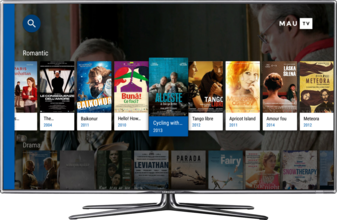 MauTV OTT White-label for Android TV – categories 1