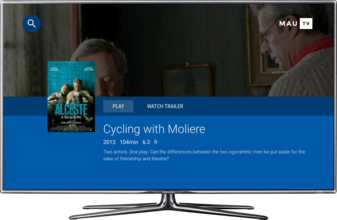 MauTV OTT White-label for Android TV – movie detail 1