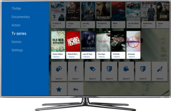 MauTV OTT White-label for Android TV – TV series